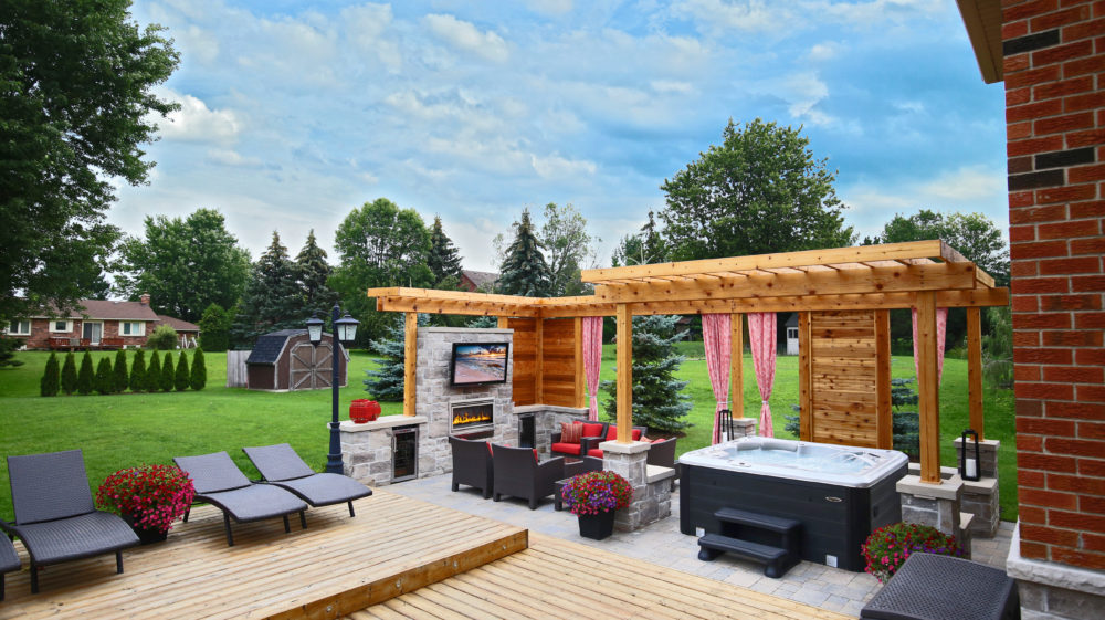 "How To Create An ""Outdoor Room"" As Part Of Your Hot Tub Plan"