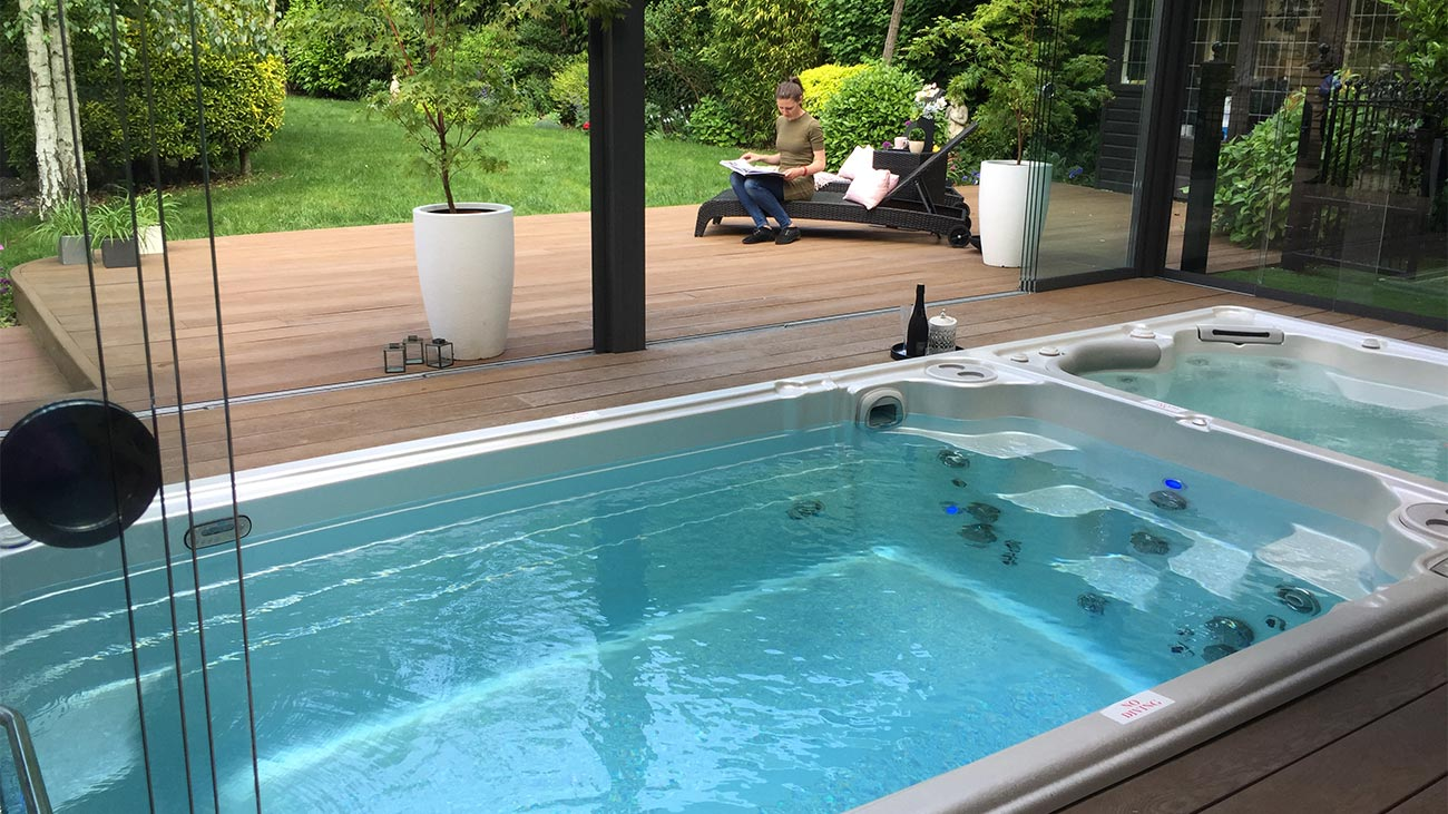 Swim Spas Vs Pools Orleans Hot Tubs Pools